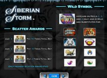 siberian storm slot screenshot 3