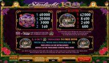 starlight kiss slot screenshot 3