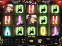 super lady luck slot screenshot 1