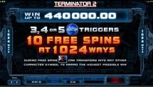 terminator 2 slot screenshot 2
