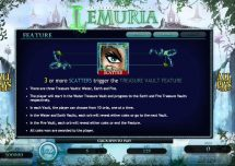 the forgotten land of lemuria slot screenshot 3