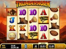 thunderhorn slot screenshot 1