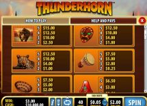 thunderhorn slot screenshot 2
