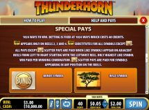 thunderhorn slot screenshot 3