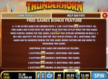 thunderhorn slot screenshot 4