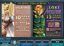 thunderstruck 2 slot screenshot 3