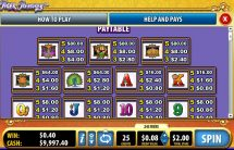 tiger treasures slot screenshot 2