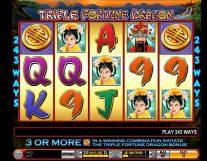triple fortune dragon slot screenshot 1