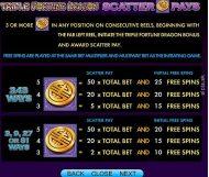 triple fortune dragon slot screenshot 4