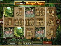untamed bengal tiger slot screenshot 1