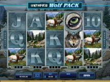 untamed wolf pack slot screenshot 1