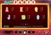 vegas party slot screenshot 4