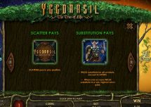 yggdrasil the tree of life slot screenshot 3