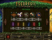 yggdrasil the tree of life slot screenshot 4