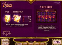 7 sins slot screenshot 2