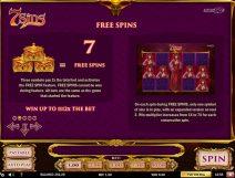 7 sins slot screenshot 3