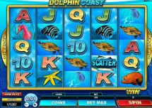 dolphin coast slot screenshot 1
