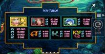 jewels of the sea slot screenshot 2