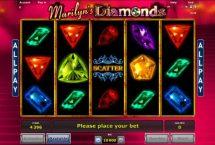 marilyns diamonds slot screenshot 1