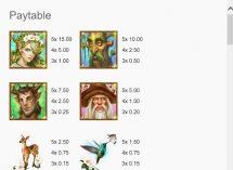 queen of the tree folk slot screenshot 2