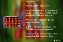 rich panda slot screenshot 4