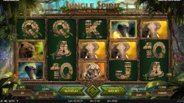 Jungle Spirit slot screenshot 1