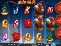 year of the rooster slot screenshot 1