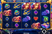 queen of atlantis slot screenshot 1