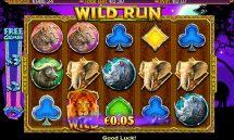 wild run slot screenshot 1