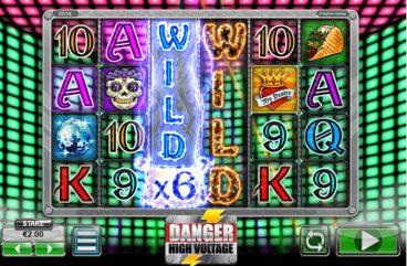 Danger High Voltage slot screenshot 1