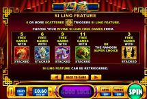 si ling slot screenshot 3