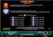 jurassic giants slot screenshot 3