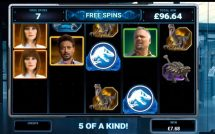 jurassic world slot screenshot 4