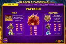 dragon champions slot screenshot 2
