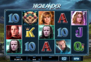 Highlander Slot slot screenshot 1