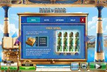 book of gods slot screenshot 4