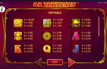 88 fortunes slot screenshot 2