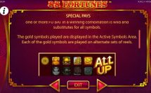 88 fortunes slot screenshot 3