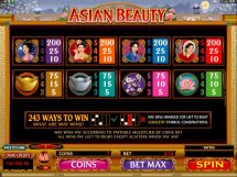 asian beauty slot screenshot 4