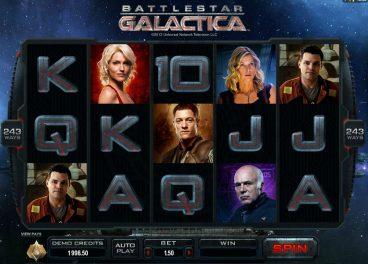 Battlestar Galactica slot screenshot 1