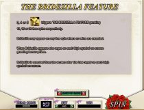 bridezilla slot screenshot 2