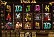 bruce lee slot screenshot 1