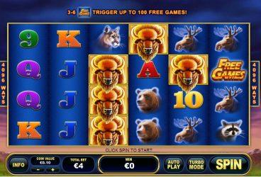 Buffalo Blitz slot screenshot 1