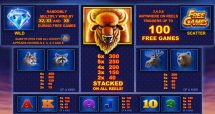 buffalo blitz slot screenshot 2