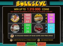 bullseye slot screenshot 3