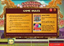 carnival royale slot screenshot 2