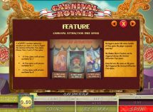 carnival royale slot screenshot 3