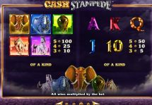 cash stampede slot screenshot 4