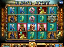 crown of egypt slot screenshot 1