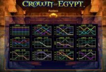 crown of egypt slot screenshot 4